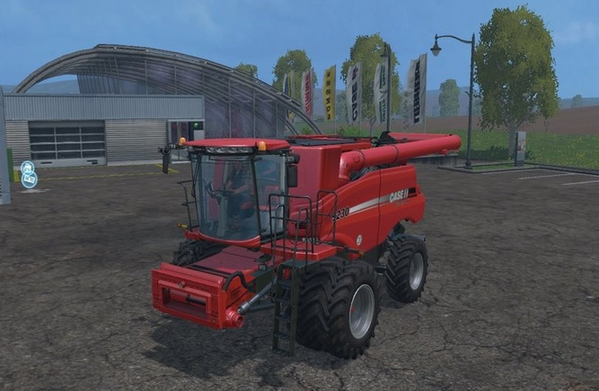 Case IH Axial Flow 9230 Twin Wheels