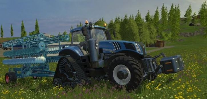 NEW HOLLAND T8 435