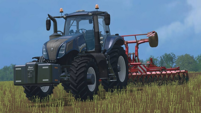 New Holland T8 320 Blue Power V2