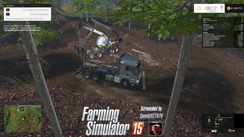 MAN TGS 18.440 Forestry