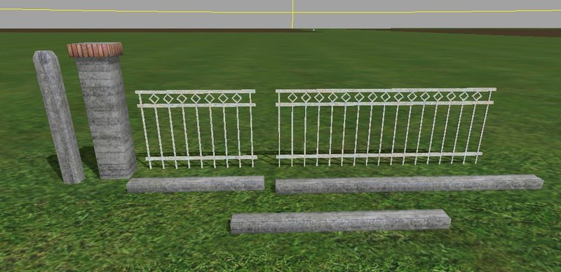 Metal Fences Pack