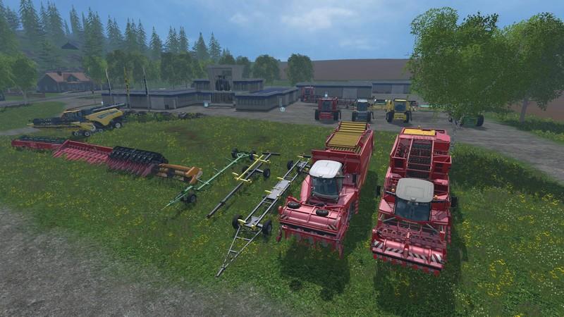 Rental Harvester Pack