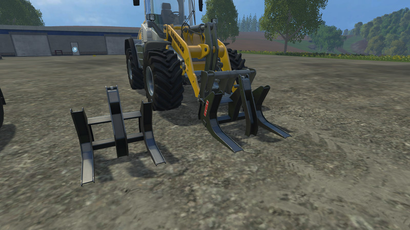 Stoll Poltergabel For Wheel Loaders