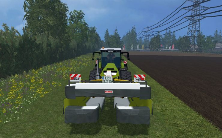 CLAAS DISCO 9100 MOWER