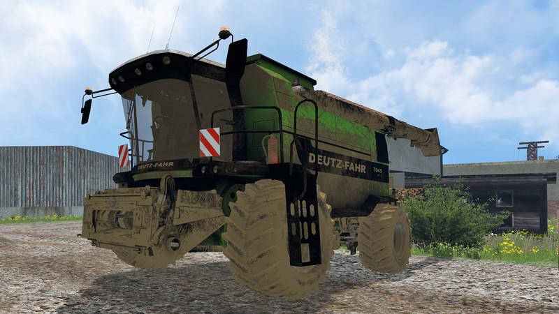 Deutz 745RTS Combine