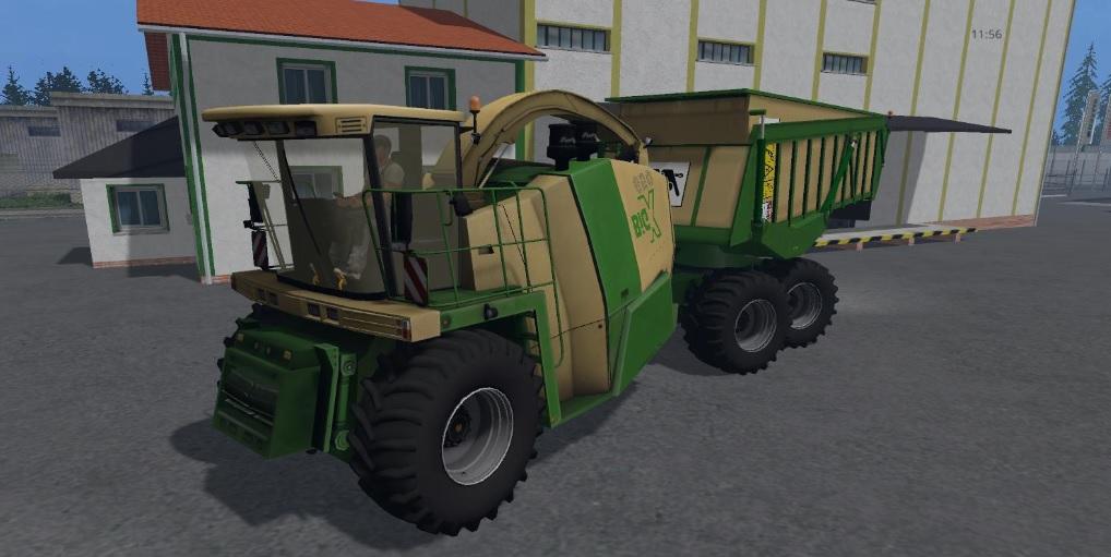 KRONE BIG X650 CARGO BEASTPACK
