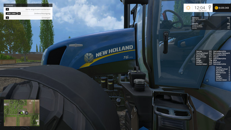 New Holland T6175