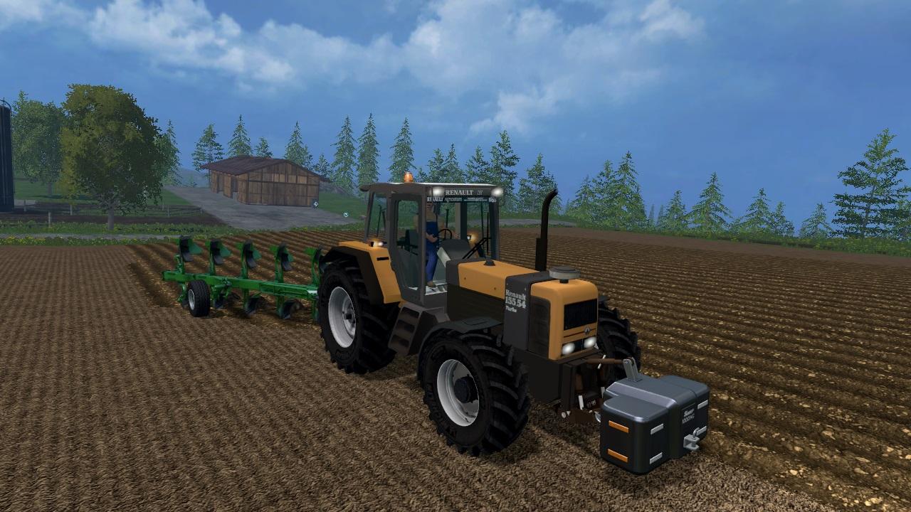 Renault 155-54 Tractor
