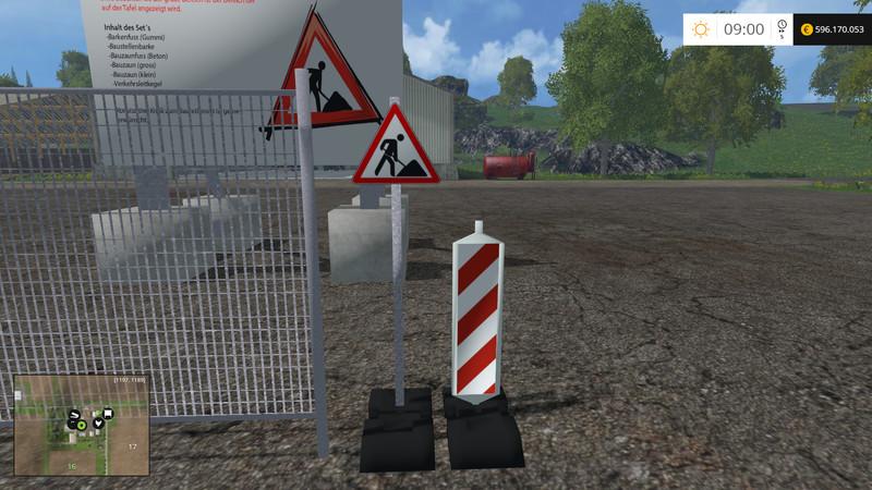 Set Construction Sites