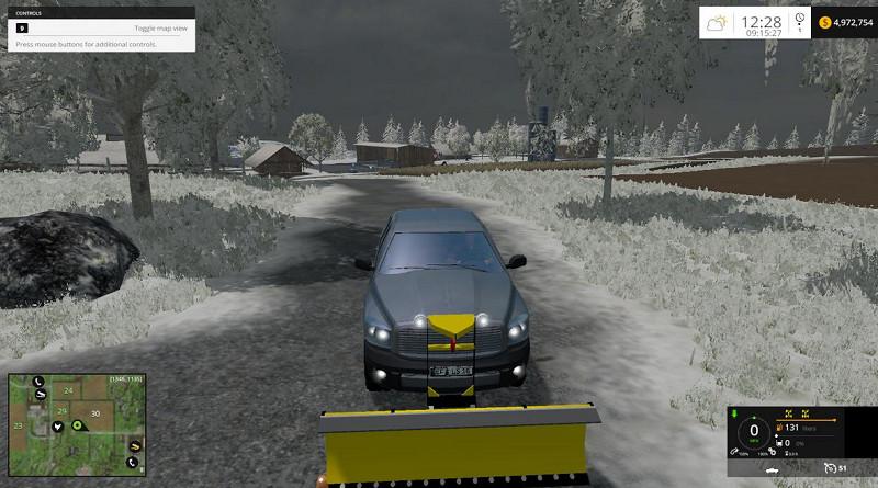 Pickup Snowplow