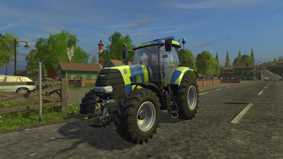 Case Puma 160 Police Edition
