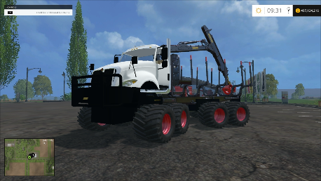 8X8 Log Truck