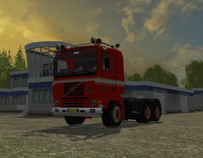 A Volvo Truck