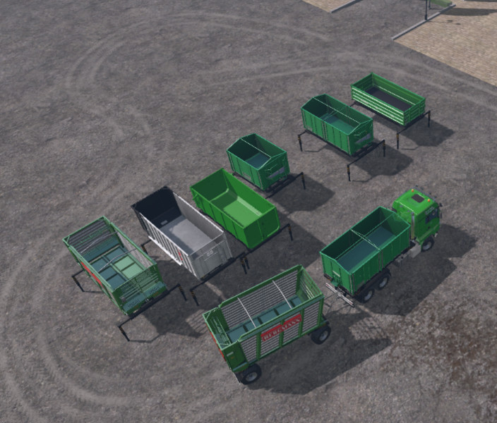 AR Container And Troughs Mod