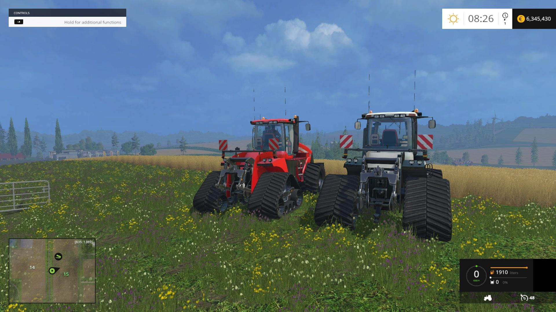 CASE IH 620 HALFTRACK Tractor