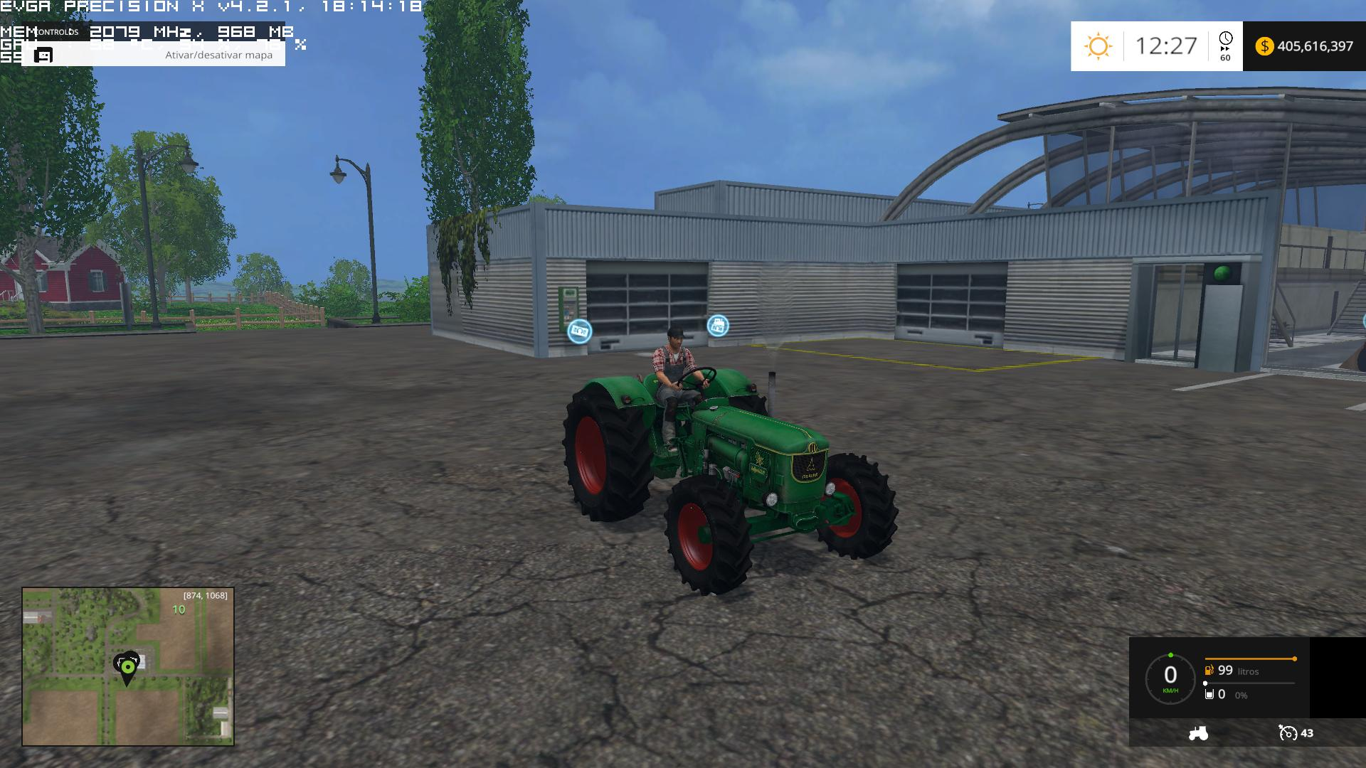 DEUTZ 75HP Tractor