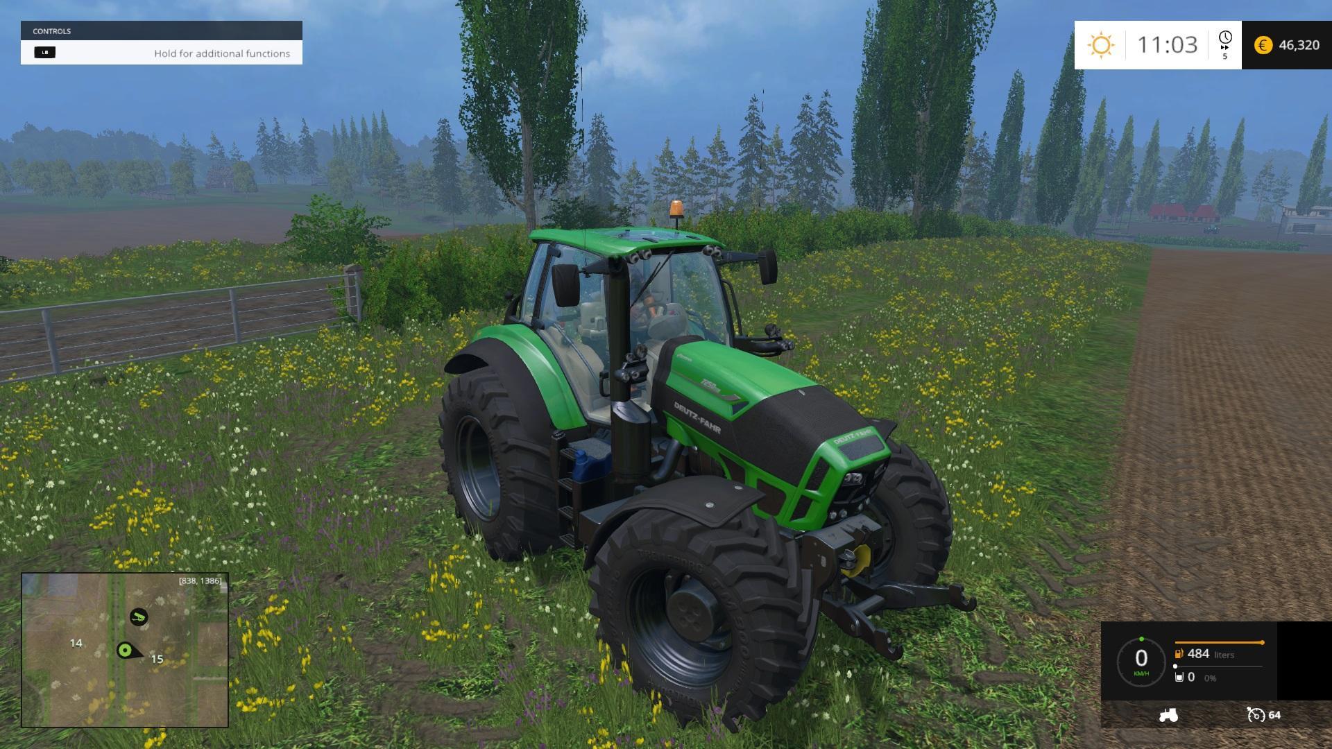 DEUTZ FAHR 7250 Tractor