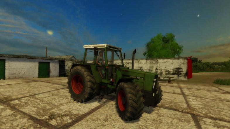 Fendt-611-LSA-turbomatik-Tractor-1