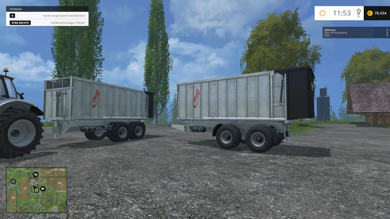 Fliegl TMK Trailer