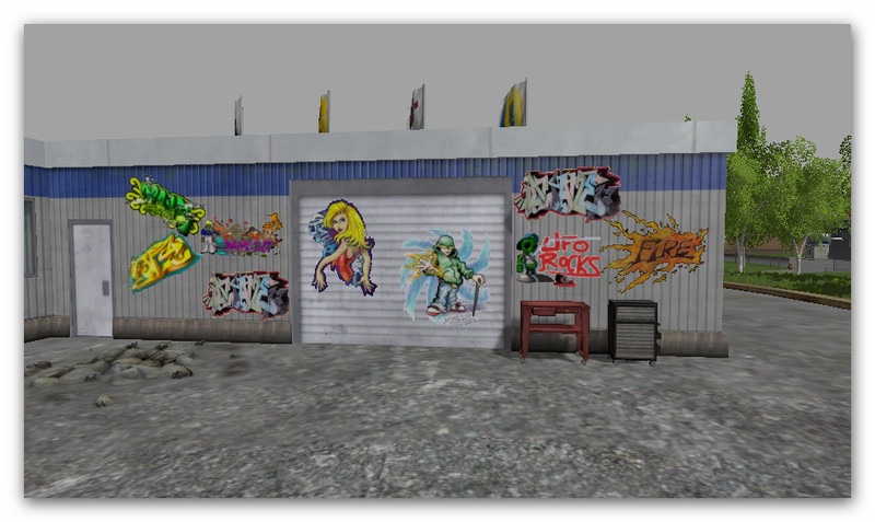 Graffiti Boards Mod