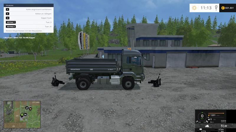 Kaufbare Fronthydraulik