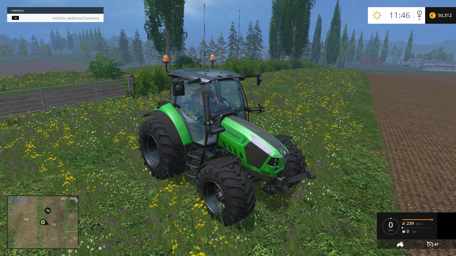 LAMBORGHINI NITROT4IVRT Tractor