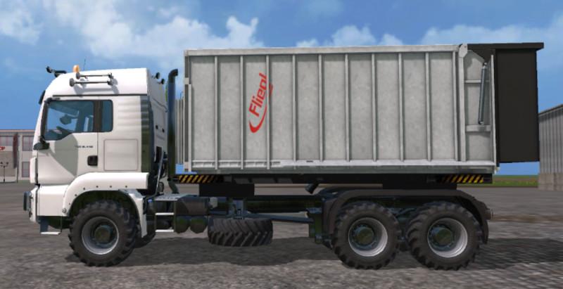 MAN Fliegl Spreader Truck