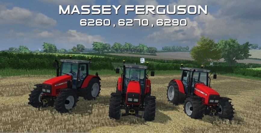 MASSEY FERGUSON 6200 Tractors Series Pack