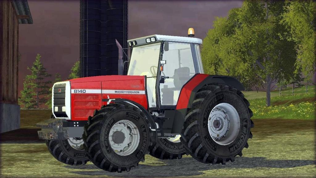 Massey Ferguson 8140 Tractor