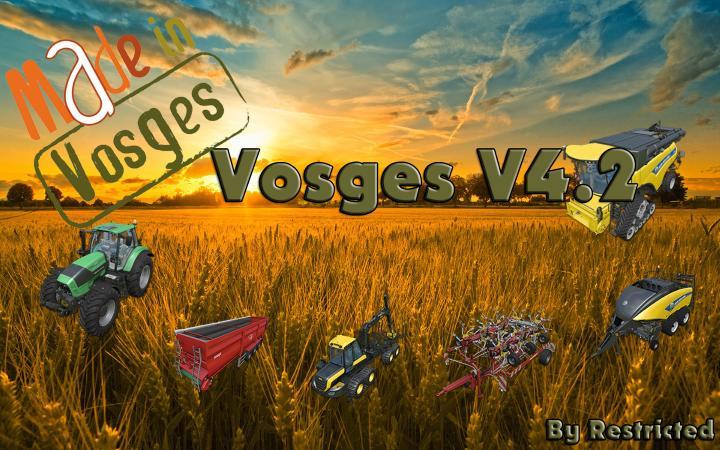 VOSGES MAP
