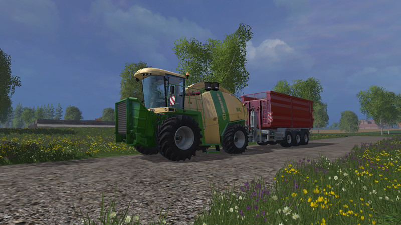 Krone BIG X 1100 Crusher