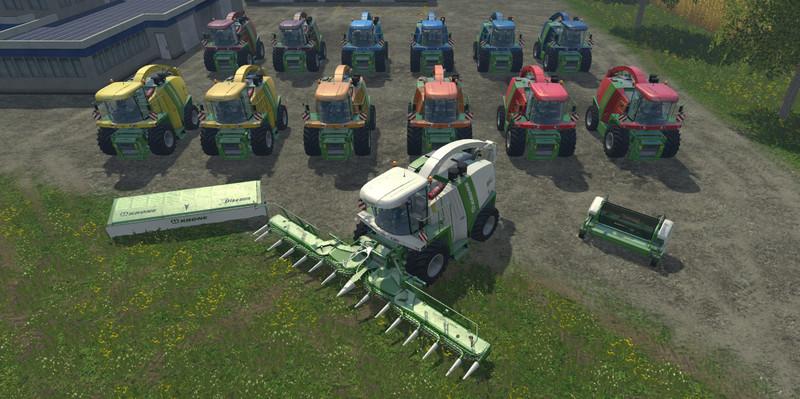 Krone BigX 1100 Inluding Cutters