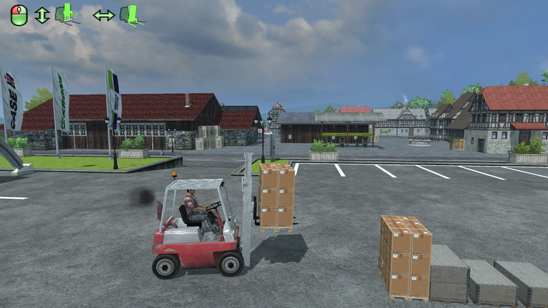 Linde Forklift And The Load
