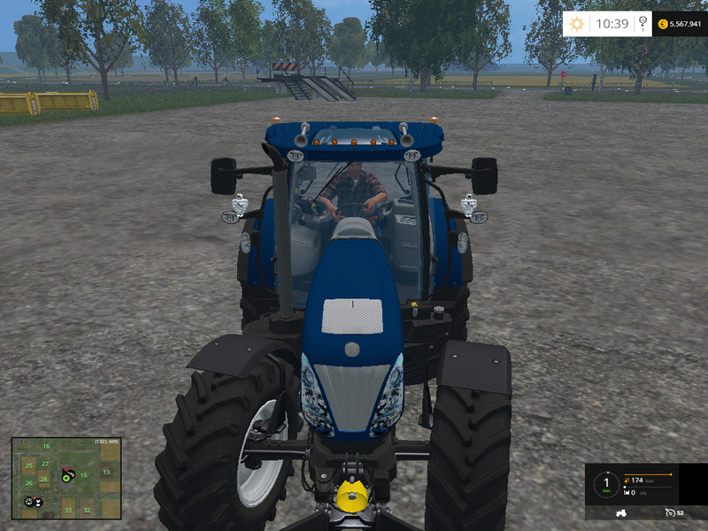 New Holland T7.270 Bleu Power