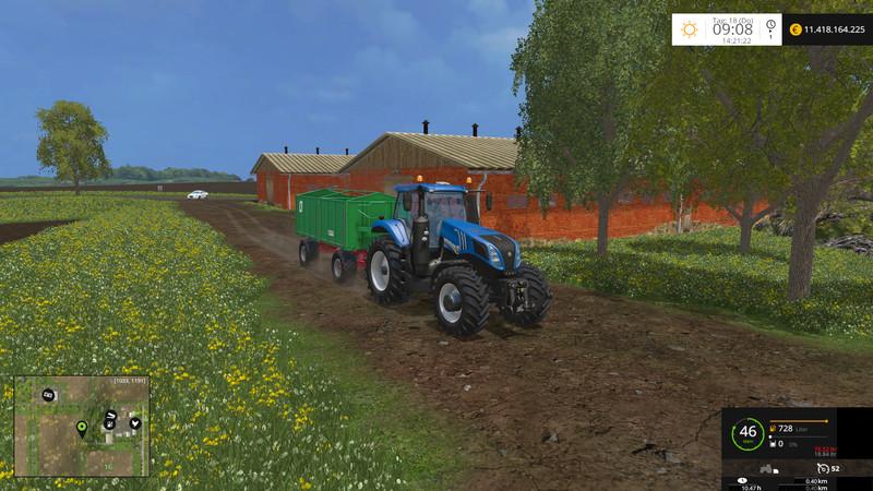 New Holland T8.320 Und T8.435