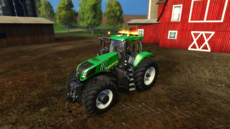NEW HOLLAND T8320 620 EVOX