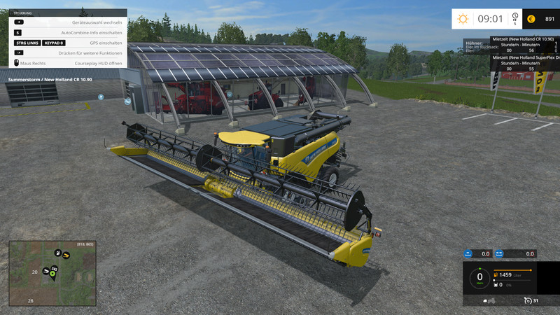 New Holland Cutting Factory