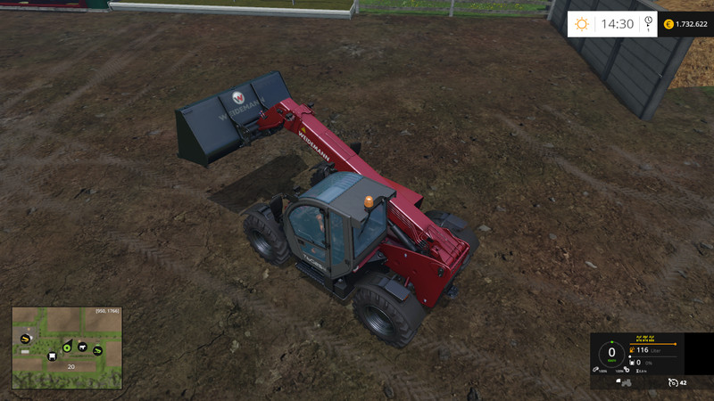 Weidemann Multi Shovel