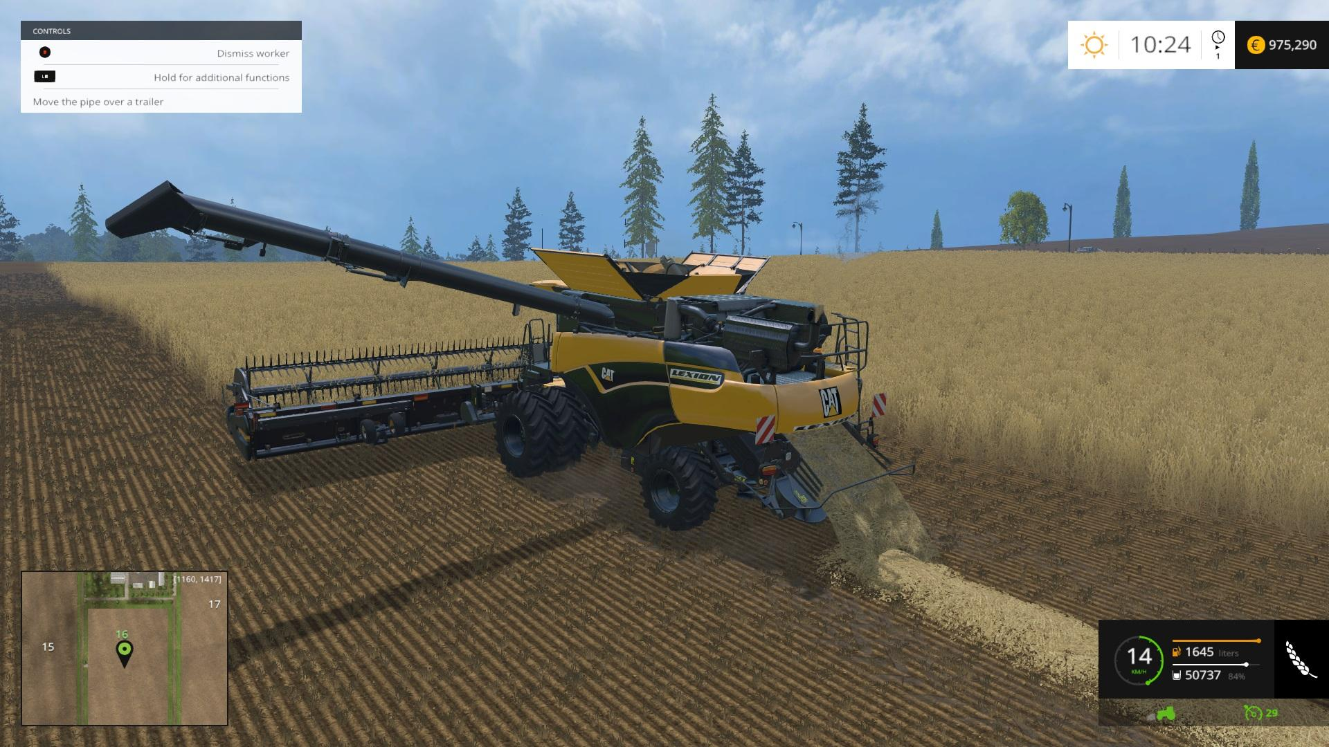 CAT LEXION SKINNED 1090