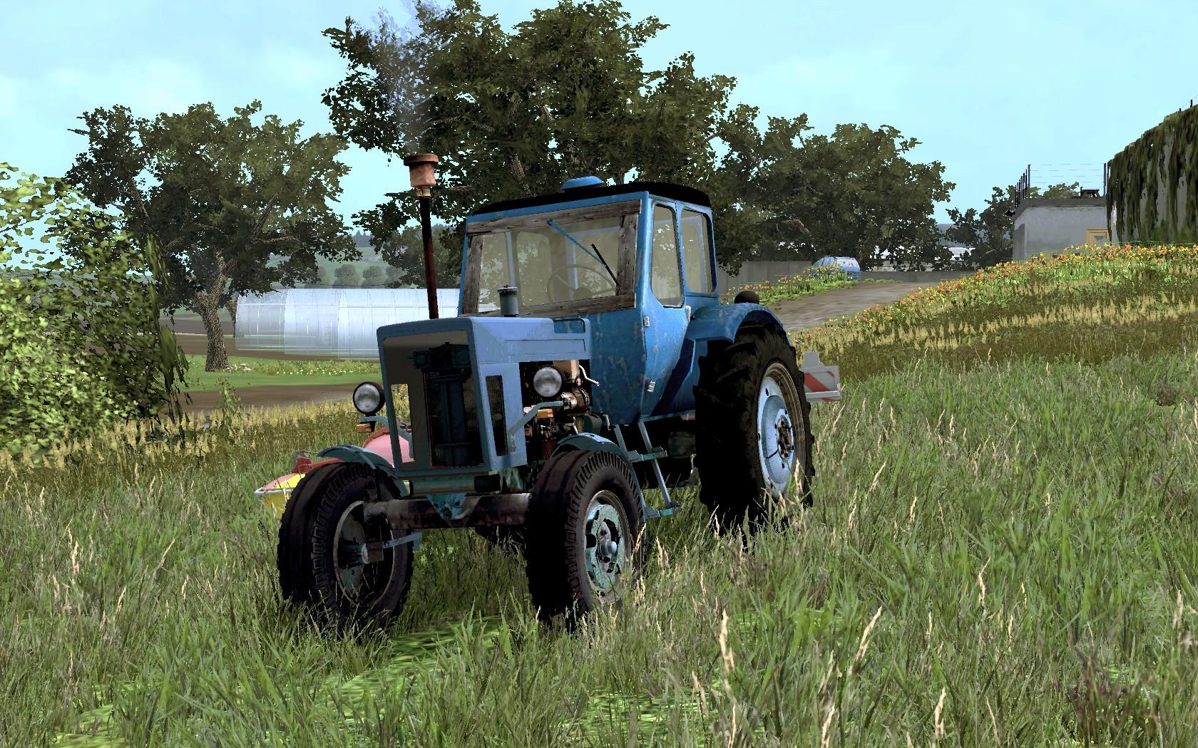 MTZ 50 Tractor