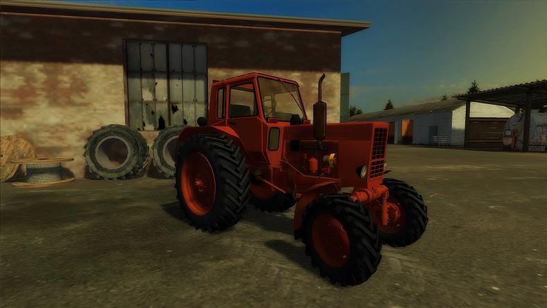 Mtz 80 Tractor