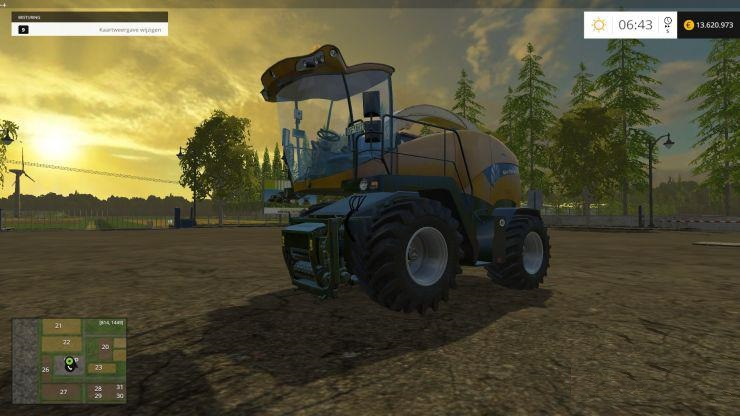 NEW HOLLAND FR9090 Combine PACK