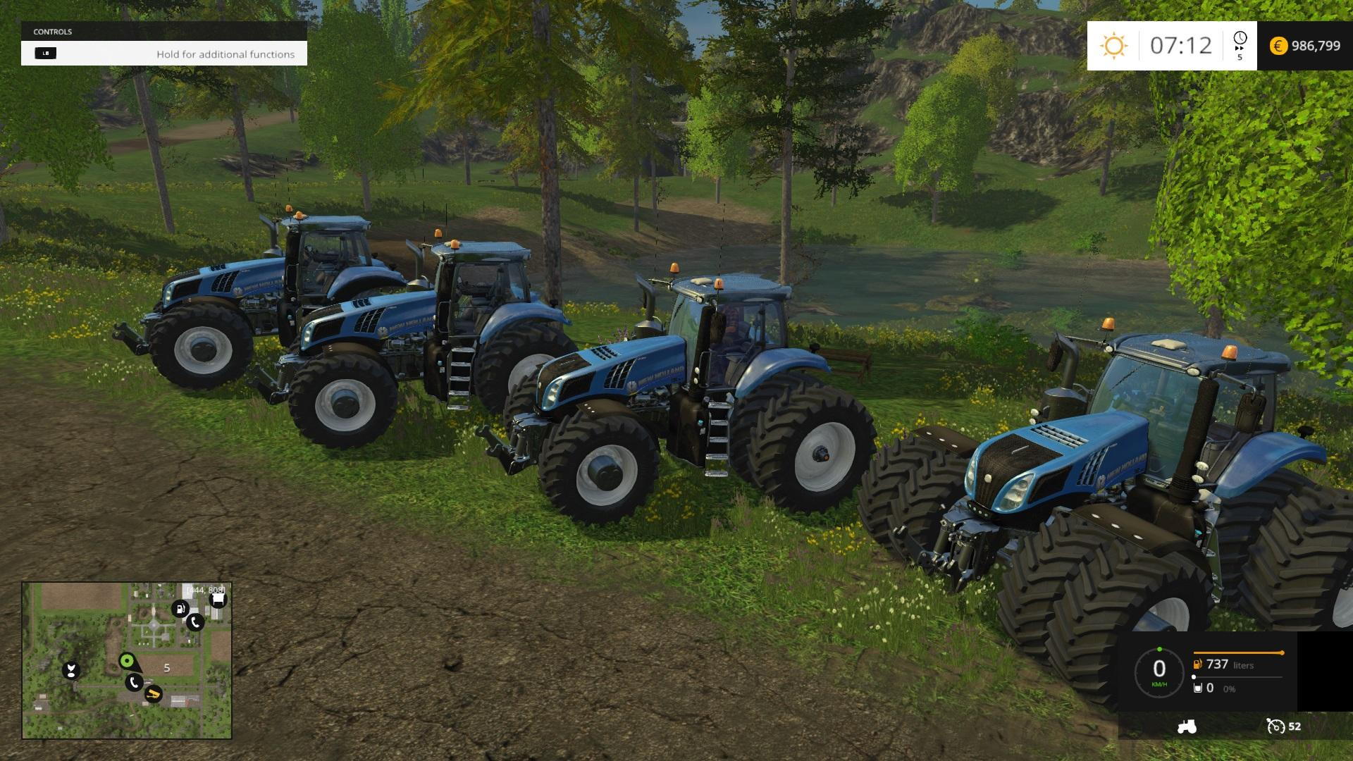 NEW HOLLAND T8'S 4