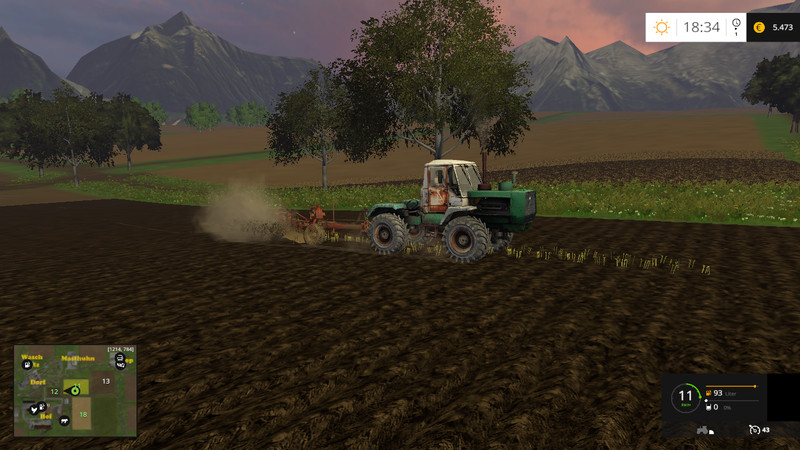 T150 Tractor