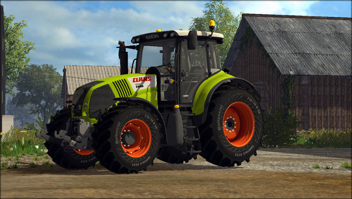Claas , Axion