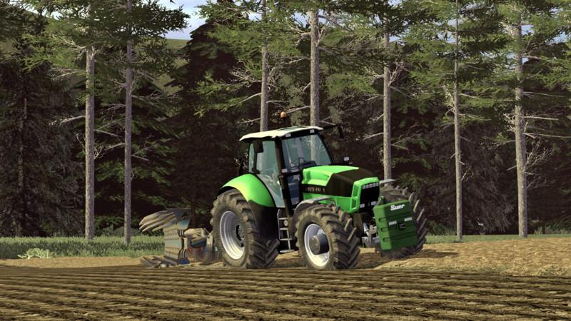 Deutz X720 Agrortron Tractor