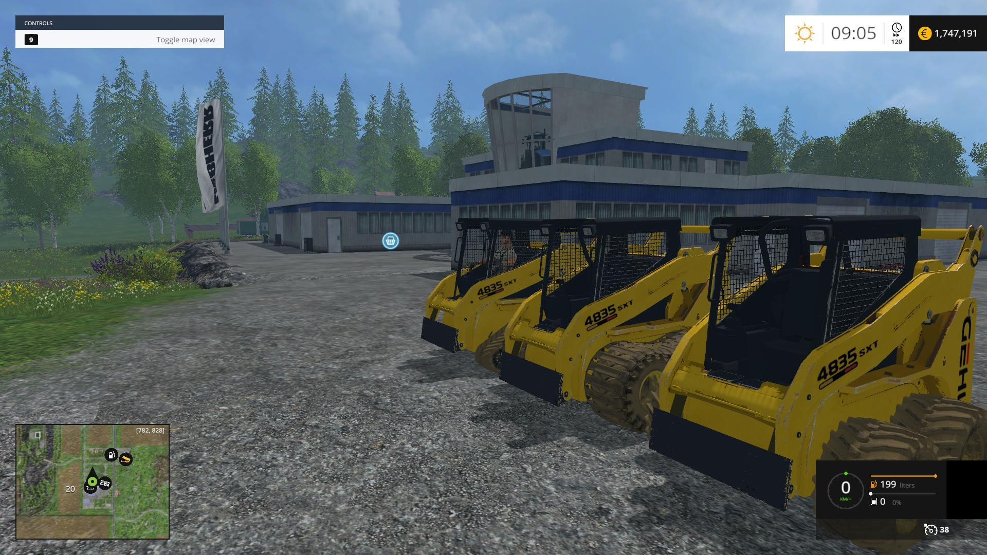 GEHL SKID LOADER PACK