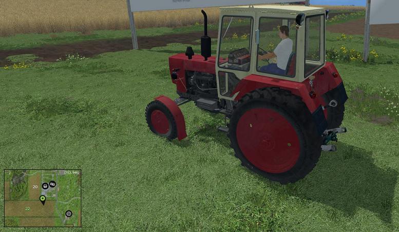 JUMZ 6-KL Tractor