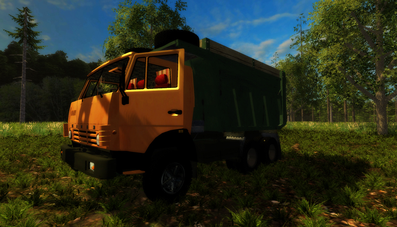 KamAZ 65115 Truck