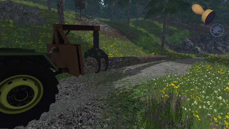 Selfmade Logging Grab